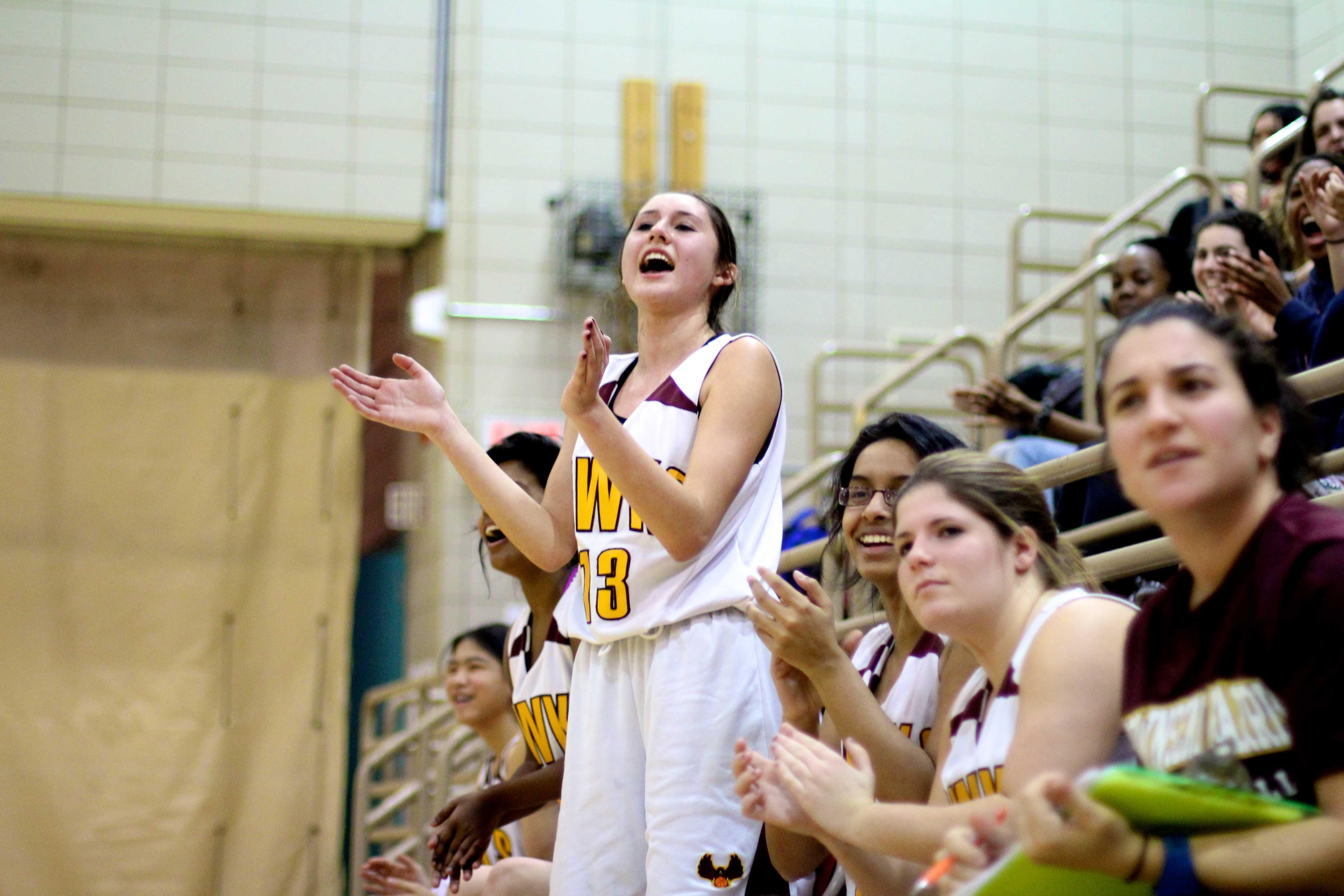"Girls Varsity Basketball ""bull-dozos"" competition"