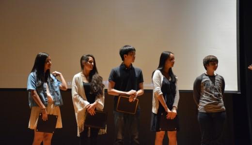C-span winners on stage
